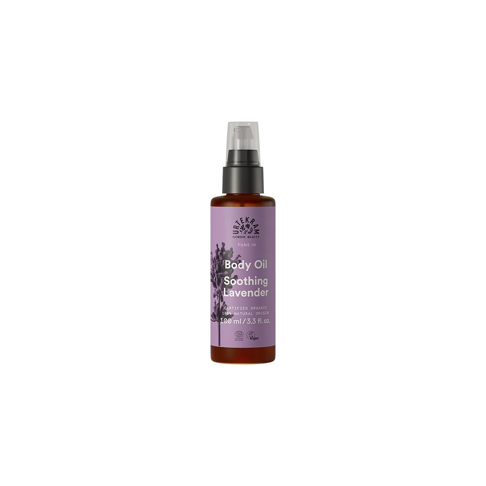 URTEKRAM, Tělový olej levandulový 100 ml BIO, VEG