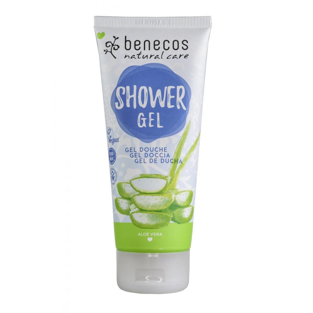 BENECOS, Sprchový gel aloe vera 200ml BIO, VEG