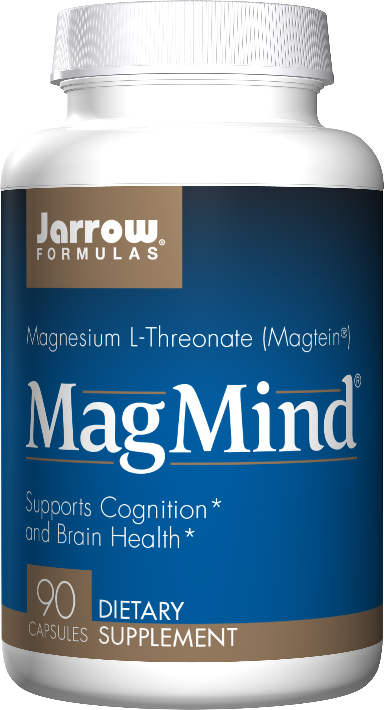 Jarrow Formulas Jarrow MagMind, hořčík L-treonát, Magtein 90 kapslí