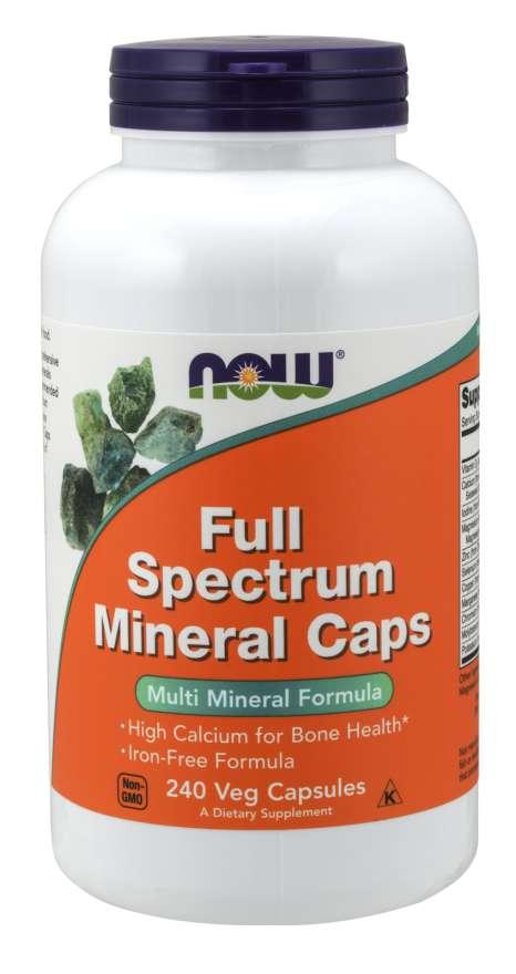NOW® Foods NOW Full Spectrum Mineral, multiminerál, 240 kapslí