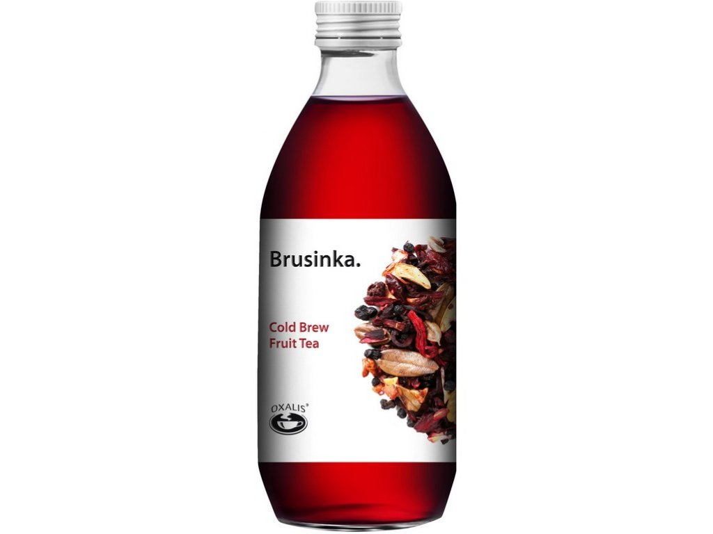 Oxalis Brusinka - Cold Brew Fruit Tea, 330 ml