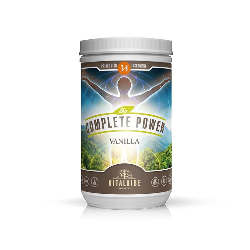 Vitalvibe Complete Power™ Bio, 465g - Vanilkový