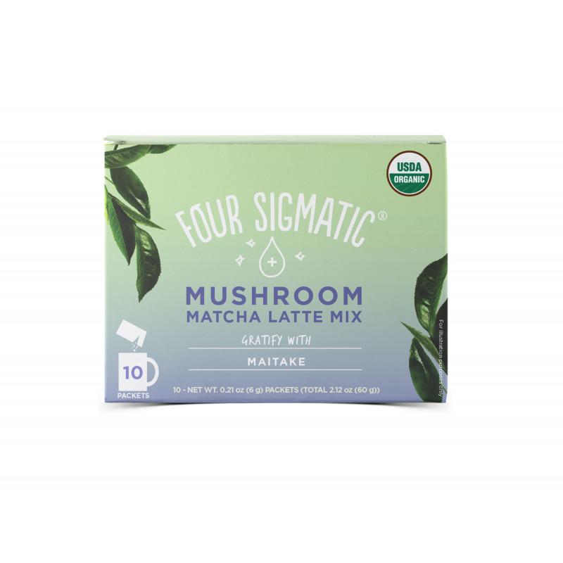 Four Sigmatic Matcha Latte + Maitake mushroom mix Množství: 10 sáčků