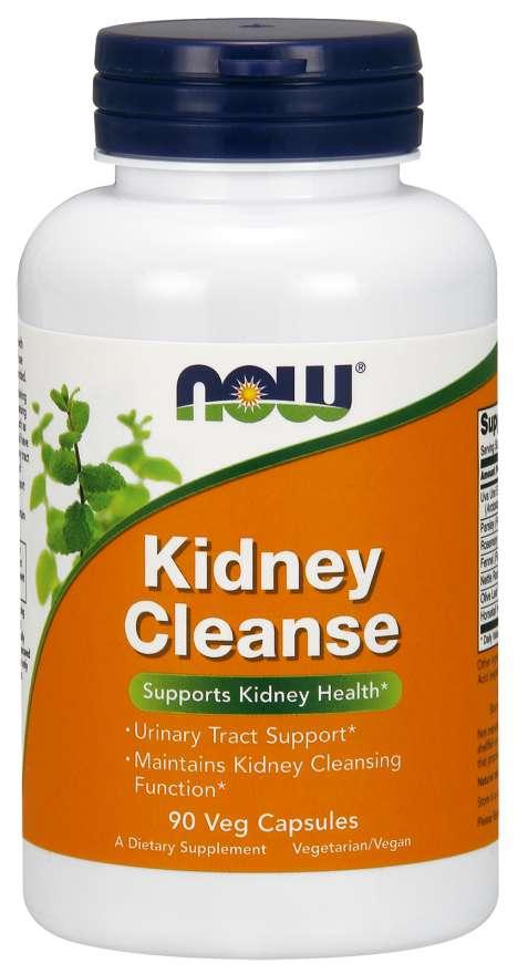 NOW® Foods NOW Kidney Cleanse (podpora ledvin), 90 rostlinných kapslí