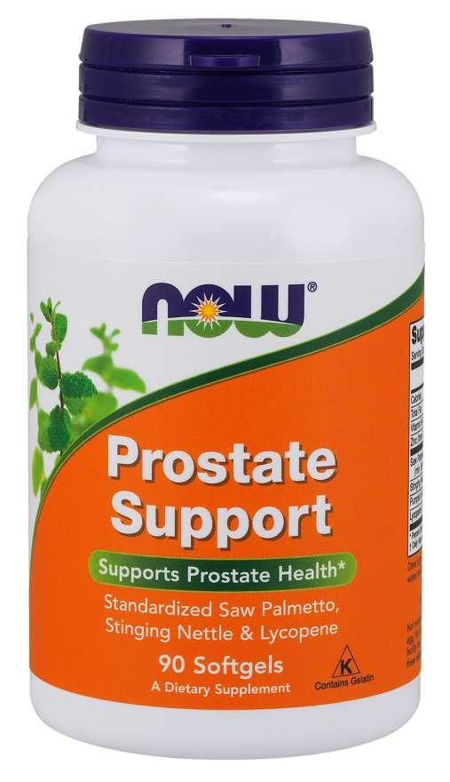 NOW® Foods NOW Prostate Support (podpora prostaty), 90 softgel kapslí