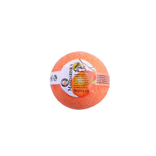 BOTANICO - bath bombs (šumivá koupelová koule), 50g - mandarinka