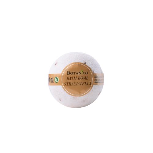 BOTANICO - bath bombs (šumivá koupelová koule), 50g - straciatella