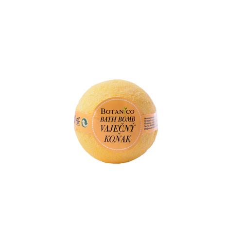BOTANICO - bath bombs (šumivá koupelová koule), 50g - vaječný koňak