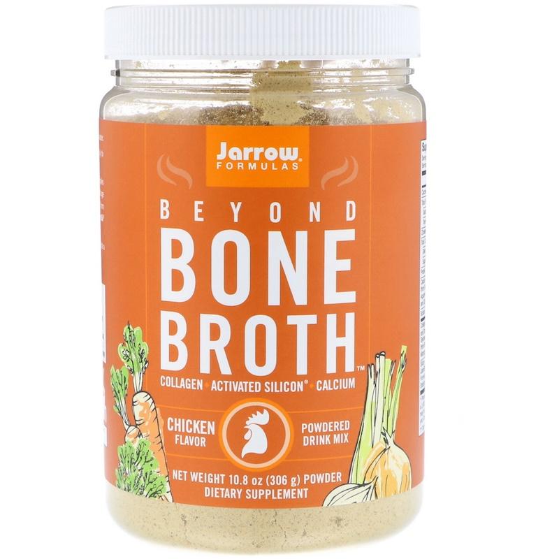 Jarrow Formulas Jarrow Beyond Bone Broth, kuřecí, 306g (Instantní vývar z kostí)