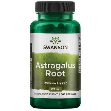 Swanson Astragalus Root (Kozinec), 470 mg 100 kapslí