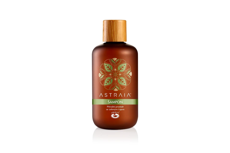 Oxalis ASTRAIA - Šampon zelený čaj, 200 ml