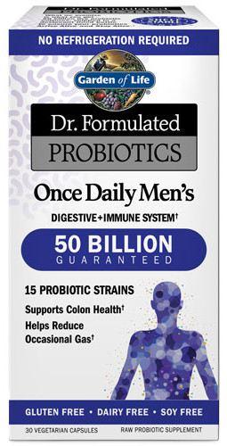 Garden of life Dr. Formulated Probiotics once daily Men's (probiotika pro muže), 50 mld. CFU, 15 kme