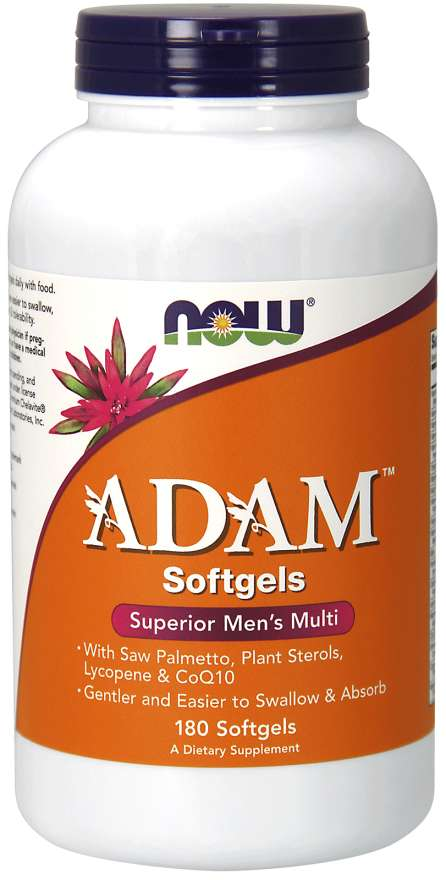 NOW® Foods NOW Multi Vitamins Adam, Men's Superior, 180 softgels