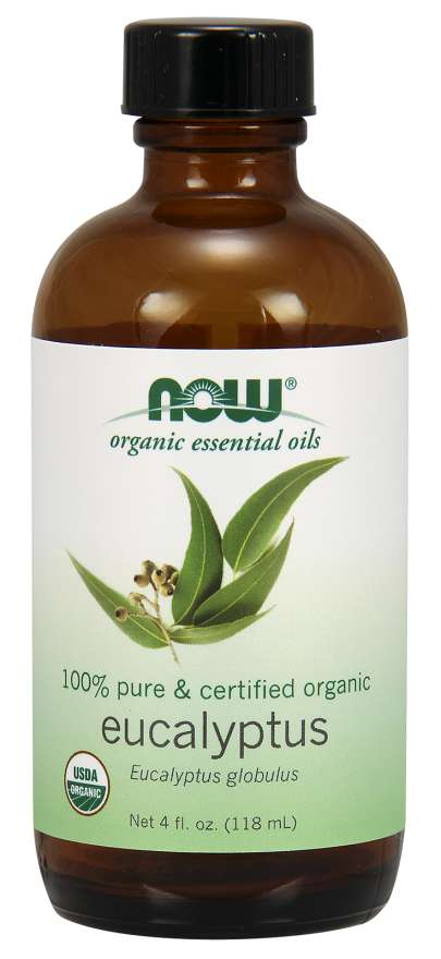 NOW® Foods NOW Essential Oil, Eucalyptus oil (éterický eukalyptový olej), 118 ml