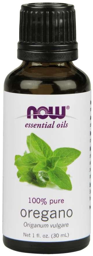 NOW® Foods NOW Essential Oil, Oregano oil (éterický olej Oregáno), 30 ml
