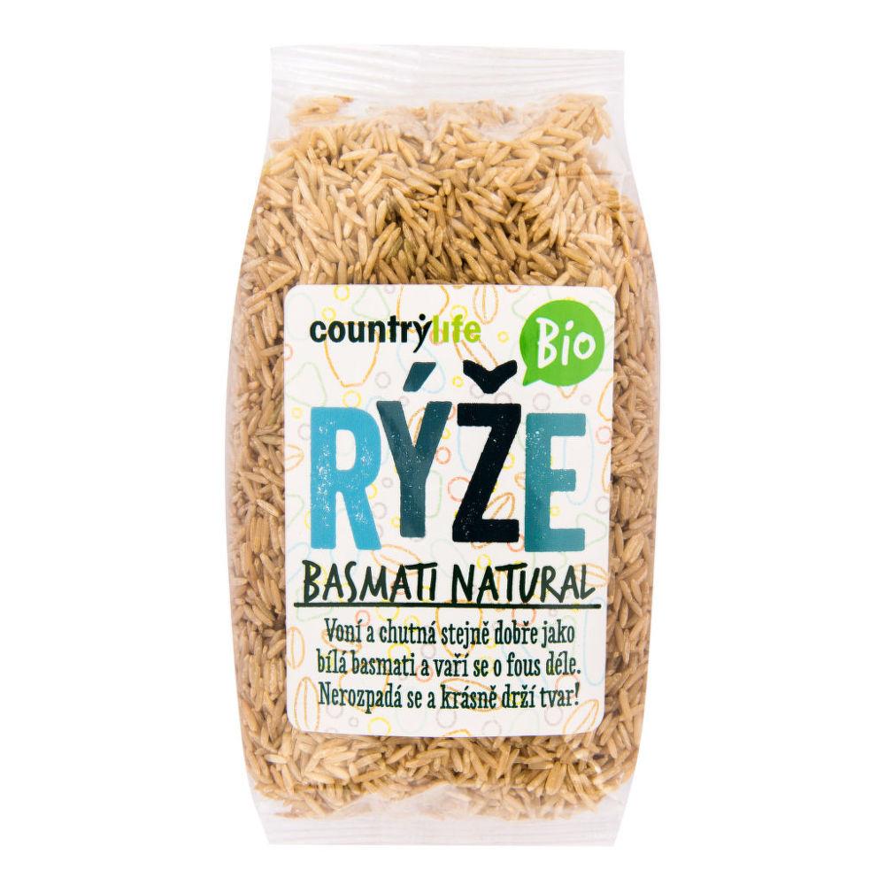 CountryLife - Rýže basmati natural BIO, 500g *CZ-BIO-001 certifikát