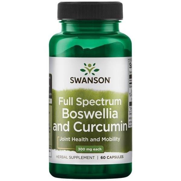 Swanson Full Spectrum Boswellia s Kurkuminem, 60 kapslí
