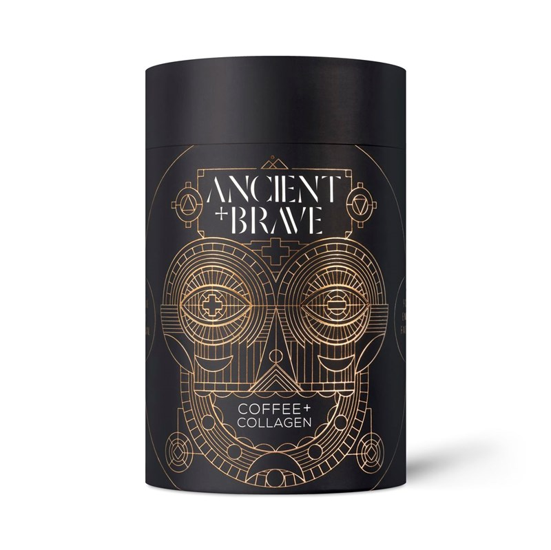 Ancient+Brave - Coffee + Grass Fed Collagen, 250g