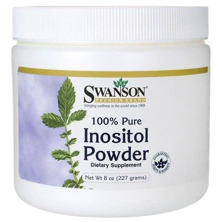 Swanson Inositol, 100% Pure Powder, 227 g