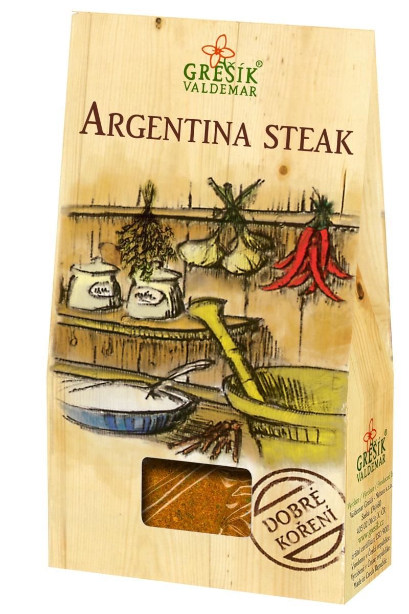 GREŠÍK VALDEMAR Dobré koření - Argentina steak, 30g
