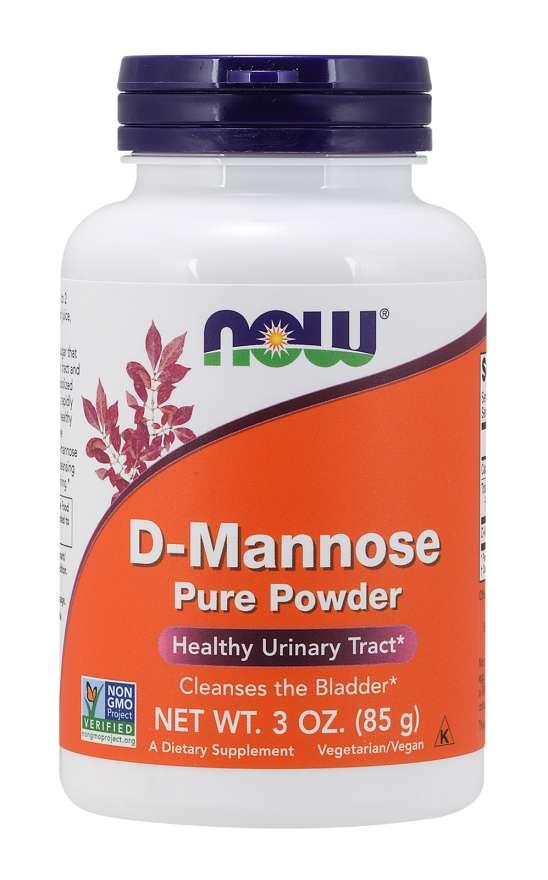 NOW® Foods NOW D-Manóza, 85 g, čistý prášek