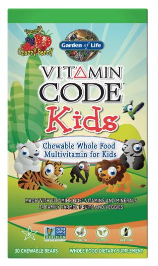Garden of life Vitamin Code Kids (multivitamín pro děti) - 30 medvídků