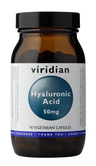 Viridian Hyaluronic Acid 90 kapslí (Kyselina Hyaluronová)