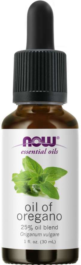 NOW® Foods NOW Essential Oil, Oil of oregano blend (éterický olej Oregáno - směs), 30 ml