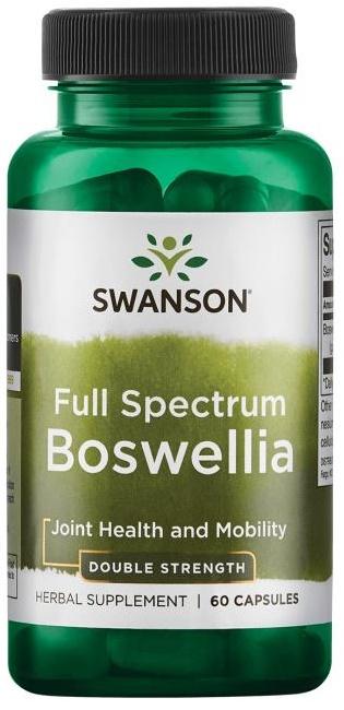 Swanson Full Spectrum Boswellia, 800mg Double Strength, 60 kapslí