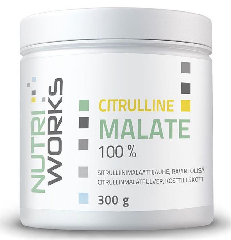 NutriWorks Citruline Malate, 300g
