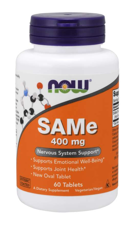 NOW® Foods NOW SAMe (S-adenosylmethionin), 400 mg, 60 tablet