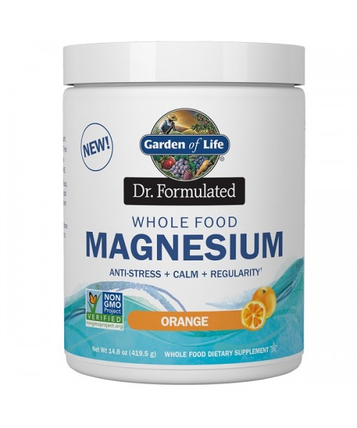 Garden of Life - Magnesium Dr. Formulated - pomeranč 419g