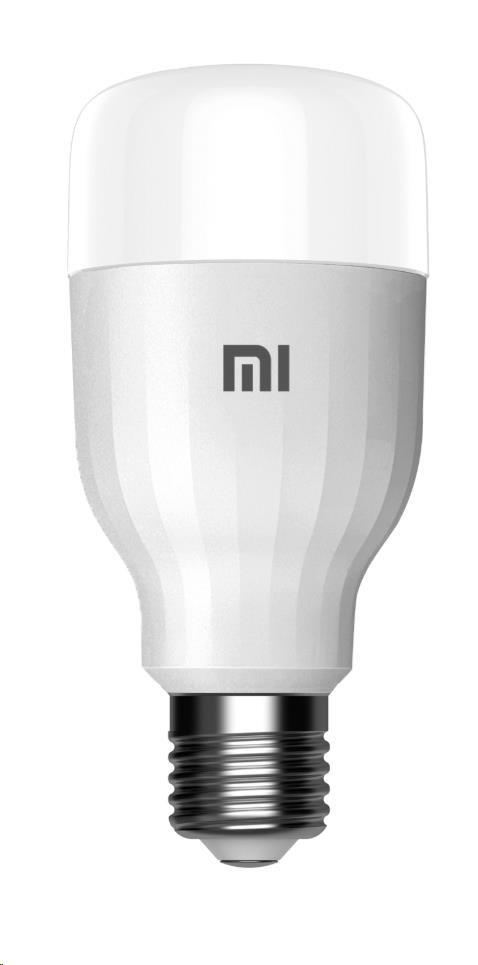 Žárovka XIAOMI LED Essential, závit E27, 9 W, stmívatelná, barevná (950 lm, RGB), WIFI