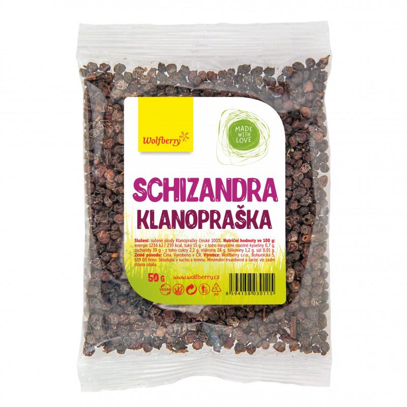 Wolfberry Schizandra plod - Klanopraška, 50 g