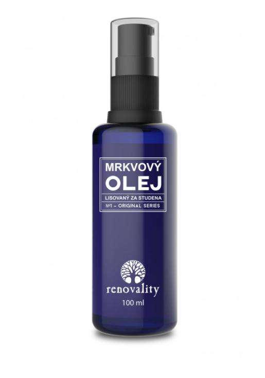 Renovality - Mrkvový olej za studena lisovaný, 100ml