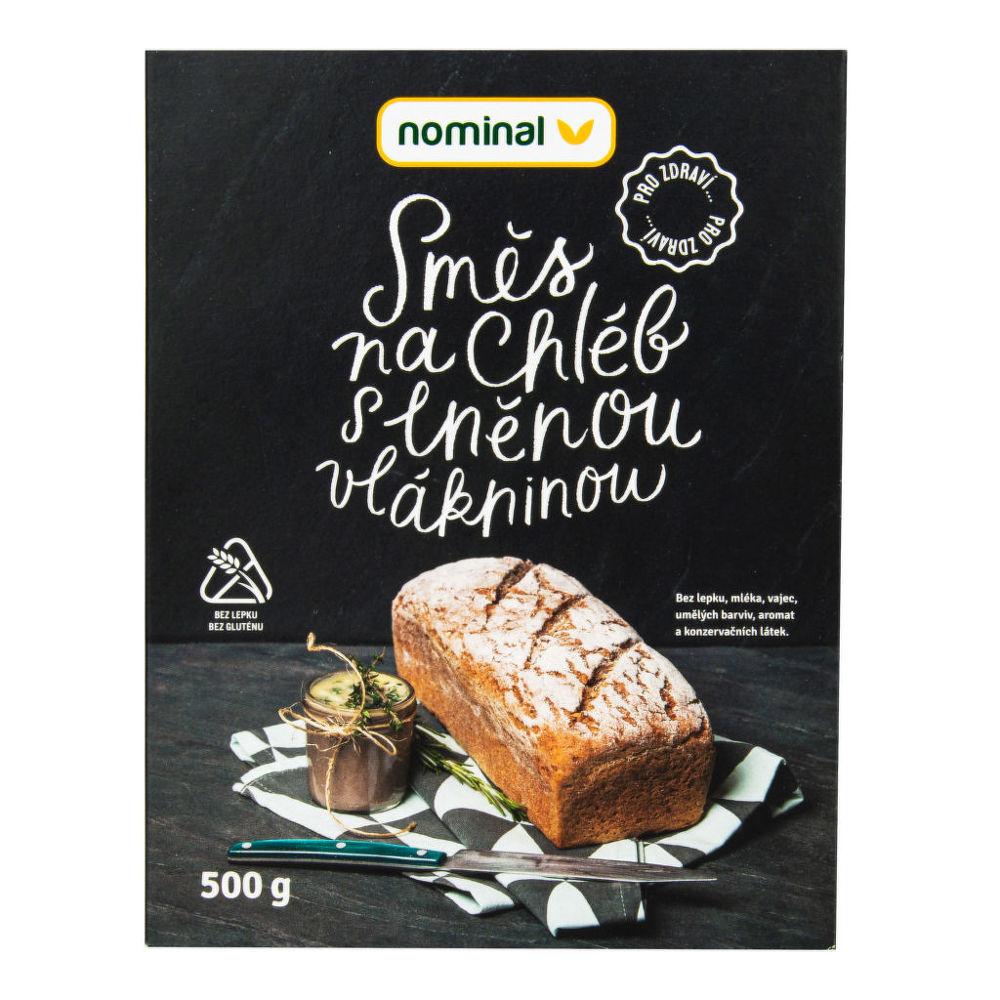 Nominal - Směs na chléb s lněnou vlákninou bezlepkový 500 g