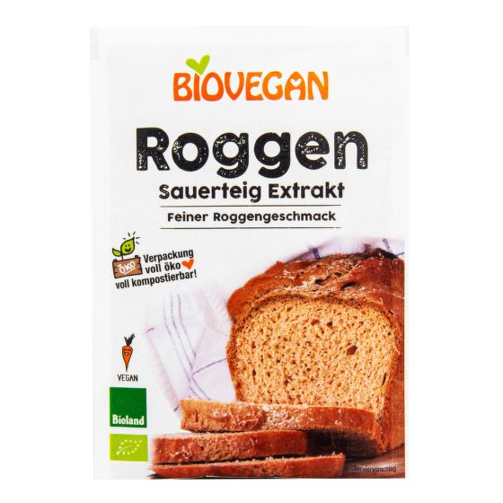 Biovegan - Kvásek žitný sušený 30 g BIO *CZ-BIO-001 certifikát