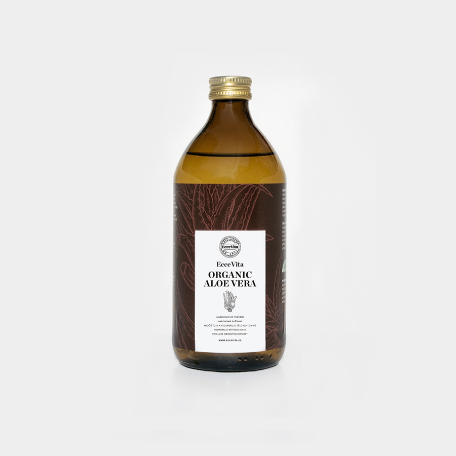 Ecce Vita EcceVita Aloe Vera 1000 ml - Bio *CZ-BIO-001 certifikát
