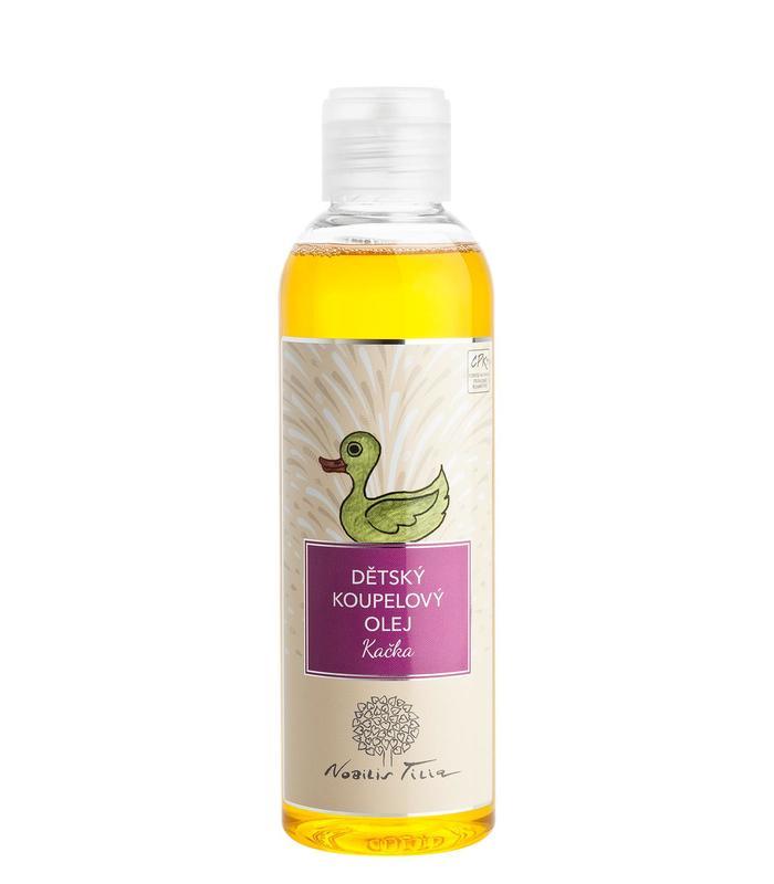 Nobilis Tilia Nobilis, Dětský koupelový olej Kačka (Dětský koupelový olej mandarinkový) 200ml