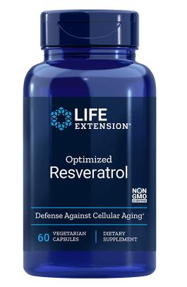 Levně Life Extension Optimized Resveratrol, 250 mg, 60 kapslí