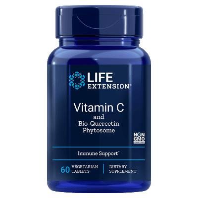 Life Extension Vitamin C a Bio-Quercetin Phytosome, 60 tablet