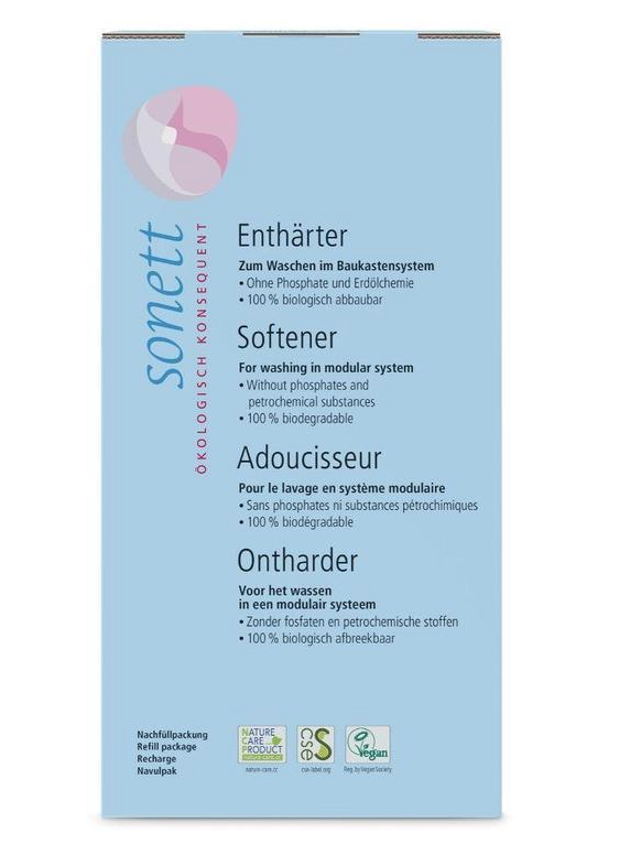 SONETT Změkčovač vody - náhradní náplň, 1 kg