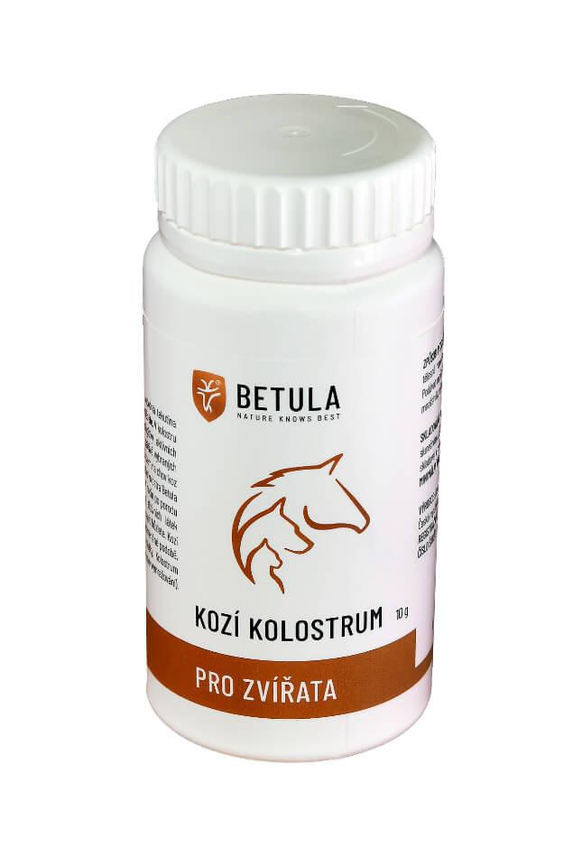 Betula - Kozí kolostrum (colostrum) pro zvířata, 10 g