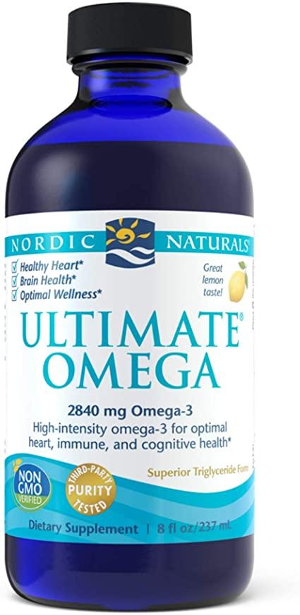 Nordic Naturals Ultimate Omega, 2840 mg, Citron, 237 ml