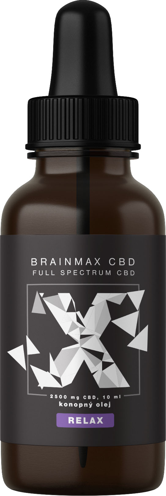 BrainMax CBD RELAX, 25%, 10 ml