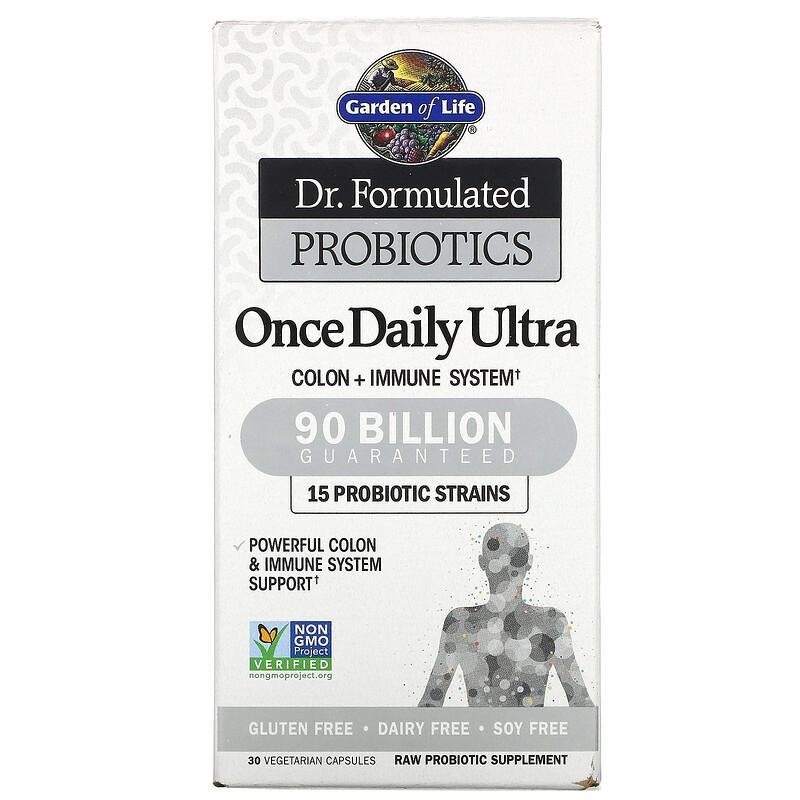 Garden of life Dr. Formulated Probiotics once daily Ultra (probiotika) - 90 mld. CFU, 15 kmenů, 30 r