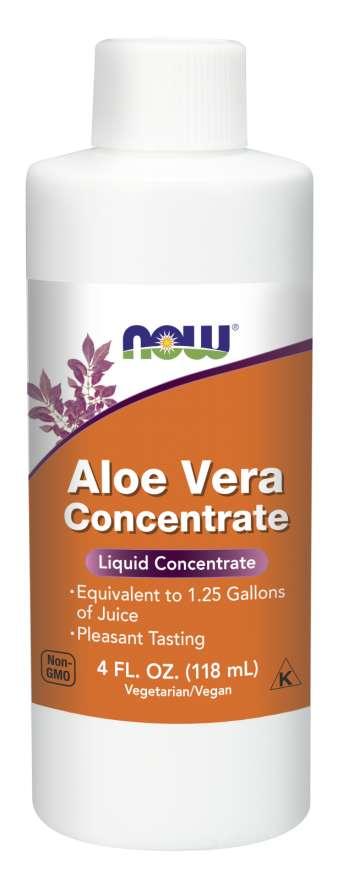 NOW Aloe Vera Concentrate (koncentrát z Aloe vera), 118 ml