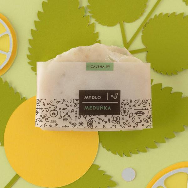 Caltha, Tuhé bylinné mýdlo, Meduňka