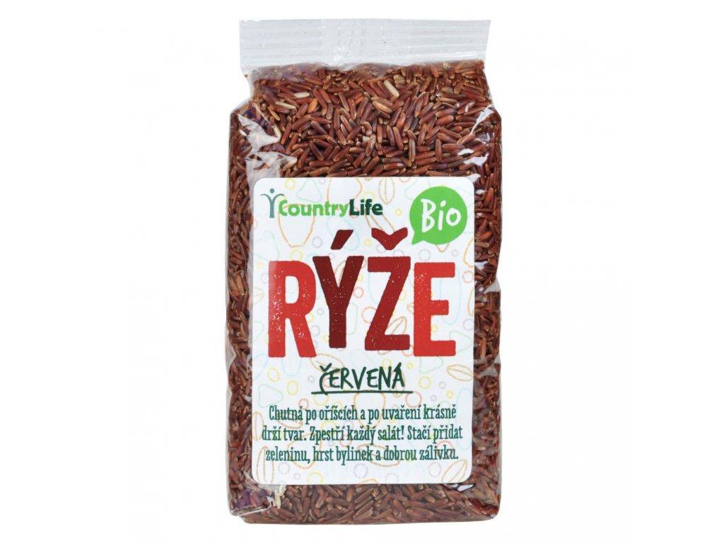 CountryLife - Rýže červená neloupaná BIO, 500g