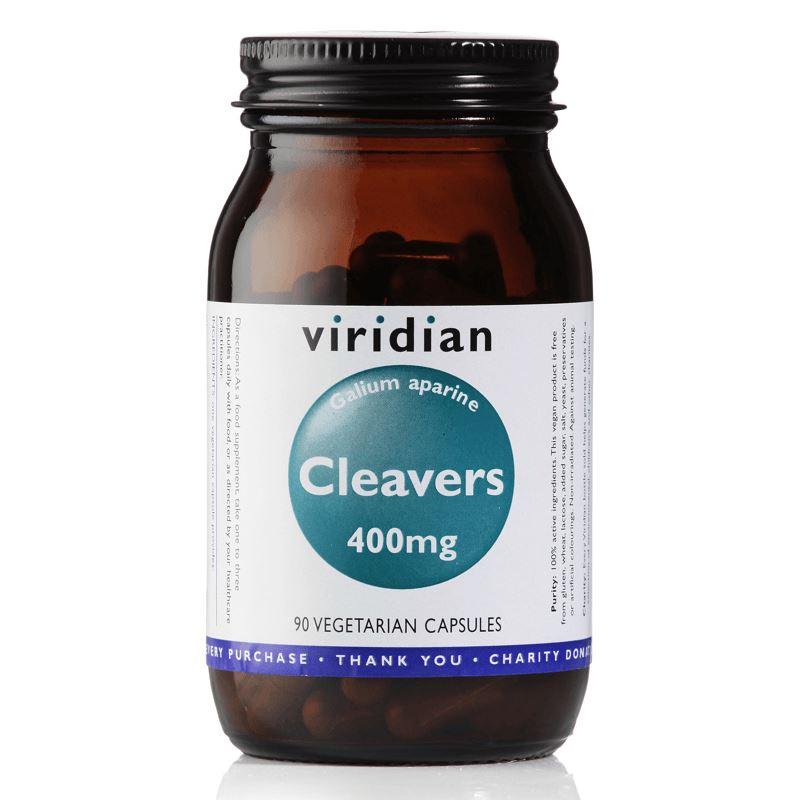 Viridian Cleavers 400mg, 90 kapslí (Svízel přítula)